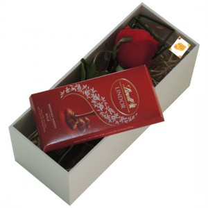 Simplesmente Rosa Colombiana e Chocolate Lindt