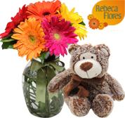 Como a Floricultura online Rebeca Flores Trabalha
