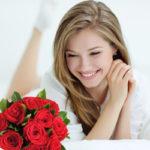 Presentes com flores namorada