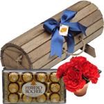 chocolate para homem