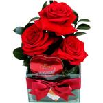 presente romântico namorada - chocolate