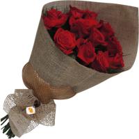 Bouquet 12 flores vermelhas