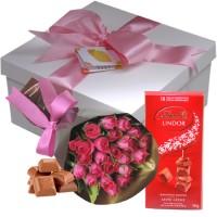 Pequena surpresa de Chocolate Lindt | Ela