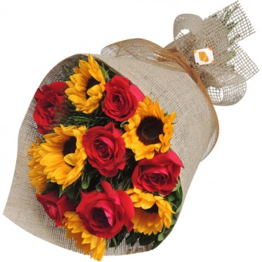 Buque Rosas Colombianas e Girassol