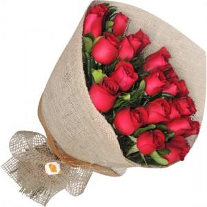 Buque 24 Rosas Vermelhas