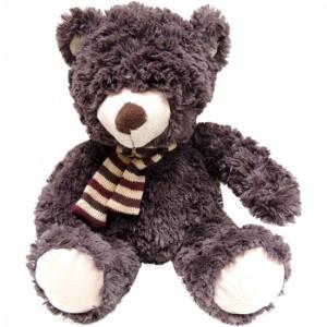 Urso Marrom com Cachecol