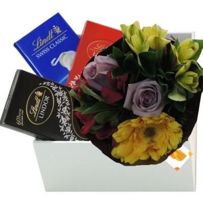 Apaixonado por Chocolate Lindt | Flores Mistas