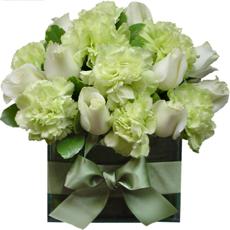 Arranjos florais com flores naturais